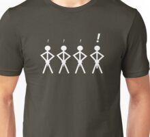 Stick men are not created equal Unisex T-Shirt