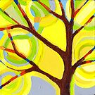 Small Sunlit Tree no. 2 by Kristi Taylor