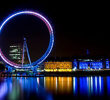 London Eye by Richie Wessen