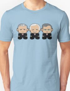 Bushes: Greater Together Politico'bot Toy Robots T-Shirt