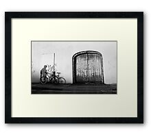 ShadowRider Framed Print