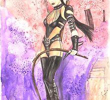 Karin a Dagon Soul Taker by morgansartworld