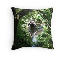 Boat dreams Throw Pillow