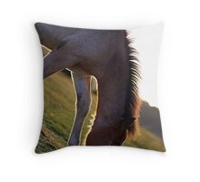 Foal Throw Pillow