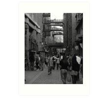 Back Streets of London Art Print