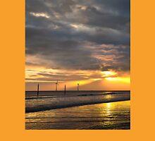Daybreak on the beach Unisex T-Shirt