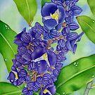 Hawaiian Blue Ginger by joeyartist
