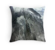 Sand in the clouds... Throw Pillow