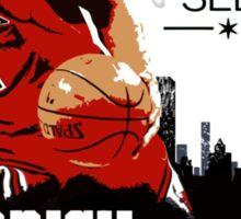 Derrick Rose - See Red Sticker