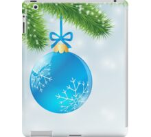 Christmas Blue Ball iPad Case/Skin