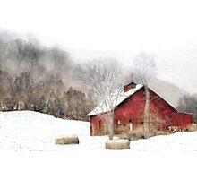 Wintry Mix Photographic Print
