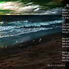 As Tide (with Poem) by Rhonda Strickland