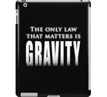 The One Law iPad Case/Skin