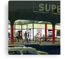 Superlight - After Dark at the Supermarket Canvas Print