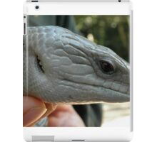Blue Tongue Lizard, Australia Zoo, Beerwah, Queensland, Australia. iPad Case/Skin