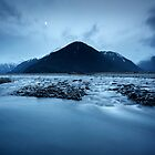 Waimakariri River, Arthur's Pass by Greg  Sorenson