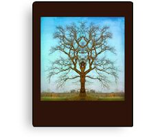 Mirror Tree Canvas Print