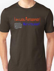 I am a local photographer (light grey graphic) T-Shirt