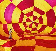 Hot Air Balloon #1 by Oscar Salinas
