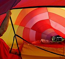 Hot Air Balloon #5 by Oscar Salinas