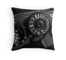 Homage to Analogue Throw Pillow