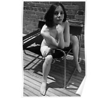 nude on wassily chair Poster