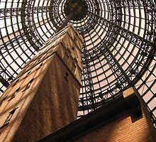 Shot Tower Melbourne Central Shopping Centre by Lynton Brown