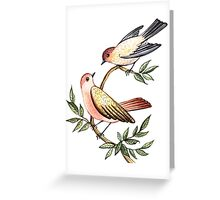 Bird lovers Greeting Card
