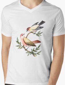Bird lovers Mens V-Neck T-Shirt