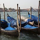 Gondolas of Venice by CherylBee