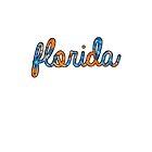 Florida Tie Dye by Kt Farello Designs