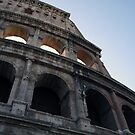 The Colosseum in Rome by CherylBee