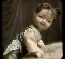 Vintage Chinese doll ttv by ozzzywoman