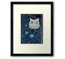 Owl of Paper n Ink Framed Print