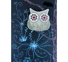 Owl of Paper n Ink Photographic Print