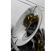 Truth in the Tuba Photographic Print