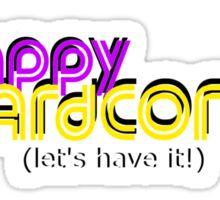 happy hardcore fm Sticker