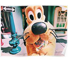 Disney's Pluto In Toontown Poster