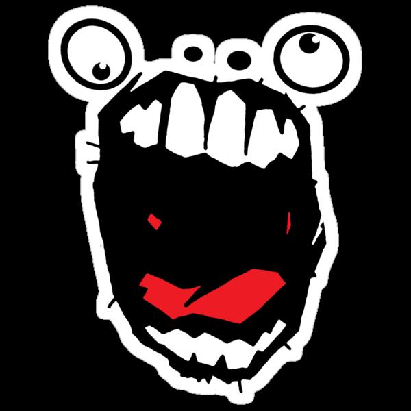Hey Big Mouth by matthewdunnart