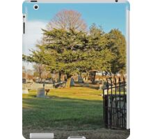 Country Graveyard iPad Case/Skin