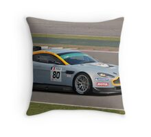 Hexis Racing Aston Martin Vantage Throw Pillow