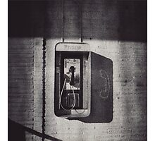 Waiting on a Call Photographic Print