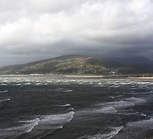 Waves Barmouth coast by Keith Trivett