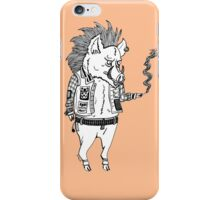 Pork Punk  iPhone Case/Skin