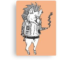 Pork Punk  Canvas Print