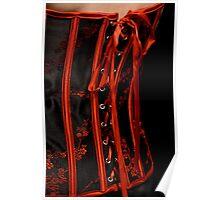 Close up corset Poster