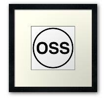 OSS Framed Print