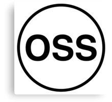 OSS Canvas Print