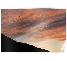 Coulee Sunset Poster