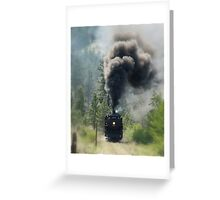 """3716 Steam Engine"" Greeting Card"